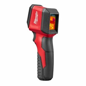 Milwaukee Spot Infrared Imager Inspection Camera Outdoor Thermal Lcd Display Red