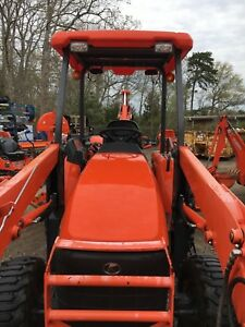 Kubota L39 Backhoe With Thumb And Qa Bucket Ready To Dig Less Than 500 Hours