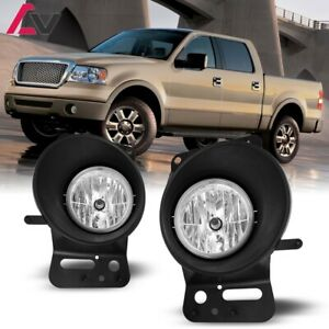 For Ford F 150 06 08 Clear Lens Pair Bumper Fog Light Lamp Oe Replacement Dot