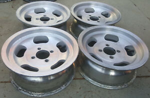 Vintage Retro Slot Mag Wheels 13x5 5 Americam Racing Indy Western Appliance Roto
