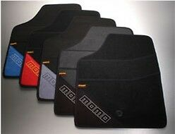 Momo Universal Floor Mats T1000 Type A Black And Blue