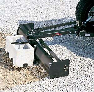 Sleeve Hitch Tow Behind Box Scraper Blade Garden Tractor Attachment Landscaping