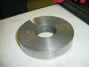 Nice 6 Dia 2 1 4 8 Thread Dog Plate Driver From A Heavy 10 South Bend Lathe