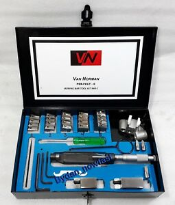 Complete Van Norman Tool Kit 944 Expanded Bore Range 55 Mm To 105 Mm Metal Case