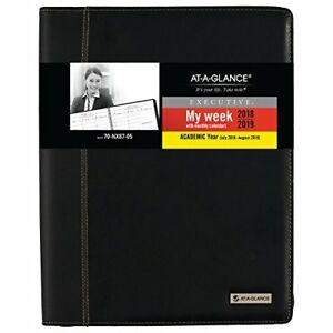 At a glance Academic Weekly Monthly Planner Appointment Book July 2018 Au