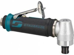 Dynabrade 48315 4hp Right Angle Die Grinder 12 000 Rpm Spiral geared Rear