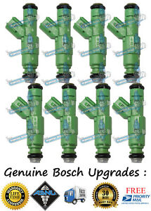 Bosch Upgrade 4 Hole Nozzle Ford Lincoln 8x Fuel Injectors 2005 2007 5 4l