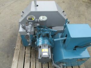 Elliott Model 2byr Complete Steam Turbine Unit Rebuilt With Sound Enclosure