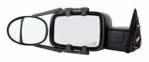 Fit System 3990 Dual Lens Universal Towing Mirror With Ratchet Mount System P