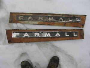 International Ih Farmall Tractor 460 560 Side Hood Panels