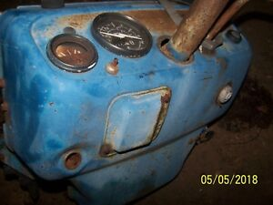 Ford 1300 Compact Tractor Dash And Gauges Not Steering Throttle