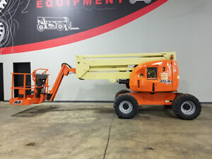 2007 Jlg 450aj 500lb Pneumatic Articulating Boom Lift Diesel Man Lift 4x4