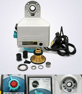 New Ac 110v Pro Cnc Milling Machine Power Feed Auto Power Table Feed Kit