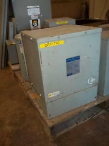 Ge 25 Kva Dry type Transformer Serial 9t21b9114
