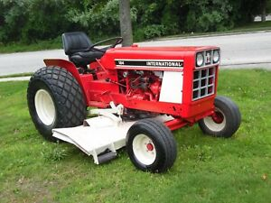 International 184 Tractor With Mower