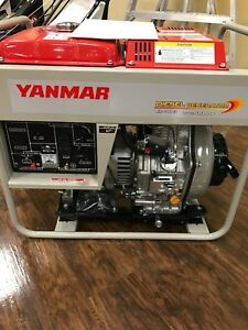 Yanmar Ydg5500w 6ei Generator New In Box