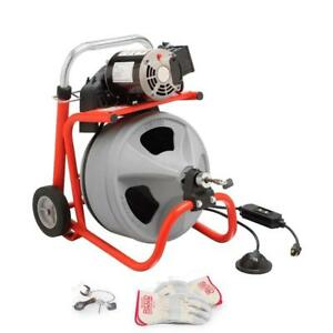 Ridgid 52363 K 400 Drain Cleaning Drum Machine 115 Volt