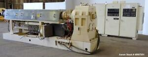 Used Omv 4 5 Single Screw Extruder Approximately 36 To 1 L d Electrically He