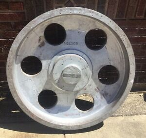 Antique Industrial Foundry Mold Gear Cog Pulley Cleveland Oh
