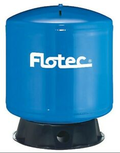 Flotec Fp7120 Vertical Pre charged Pressure Water Tank 35 Gallon