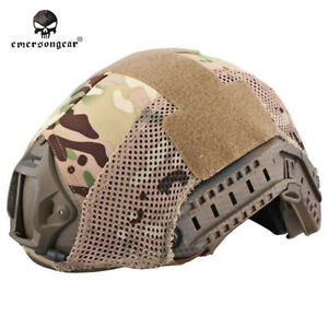 EMERSON Tactical FAST Helmet COVER Combat Duty Airsoft Gear MultiCam Camo EM8809