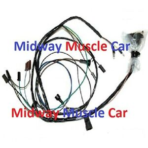 Engine Wiring Harness V8 69 Pontiac Firebird 350 400