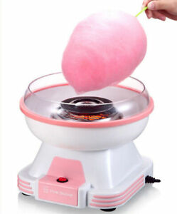 220v 500w Pink Bunny Electric Mini Cotton Candy Maker Machine Sugar Home Kit