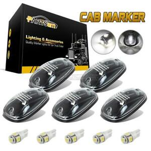 5px264146cl Clear White Light Cab Marker Roof Running Lights For Dodge Ram 03 18