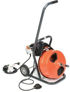 General Wire Mrp b Mini rooter Pro Drain sewer Cleaning Machine W 75 X And 4