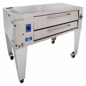 New Bakers Pride Y 600 Gas Pizza Oven 78 Superdeck Series 60 x 36 x 8 Deck