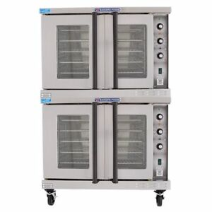 Bakers Pride Bco e2 Cyclone Electric Full Size Double Stacked Convection Oven