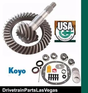 Amc 20 12 Bolt 4 10 Ratio Ring And Pinion Master Install Kit Usa Standard New