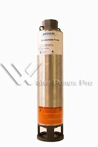 13gs05 Goulds 4 Submersible Water Well Pump End Only 13gpm 1 2hp Motor Req