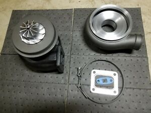 Holset H1e Turbo Rebuilt Billet Compressor Hx40 Diesel V Band T4 T 4