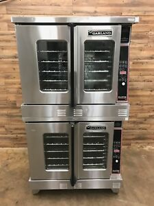 2007 Garland Mco es 10 Full Size Electric Convection Oven Double Stacked