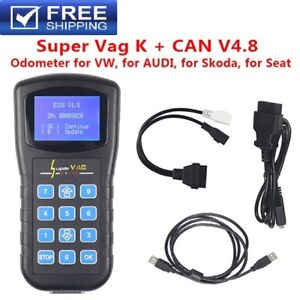 Super Vag K can V4 6 V4 8 Vag Diagnostic Commander Tool Vag Scanner Code Reader