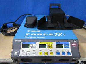 Covidien Valleylab Force Fxc Electrosurgical Unit Bipolar And Monopolar Pedals