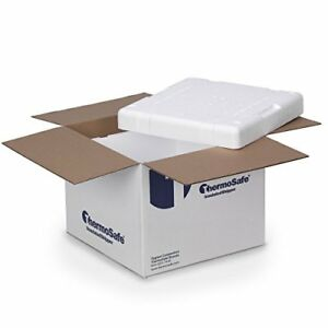 Thermosafe 321ups Cold Insulated Shipping Box Container Kit 8 Pack Taxfree