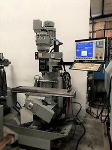 Wells index 520 Cnc Centroid 3 Axis Vertical Milling Machine gmt 1551