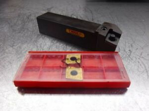 Sandvik Indexable Lathe Tool Holder Pclnl 20 6d W Qty2 Cnmg 19 06 16 loc392
