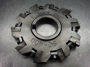 K Tool 4 Indexable Slot Milling Cutter Sc 400 loc2918d