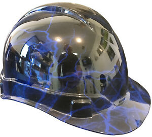 Hard Hat Ridgeline Standard Blue Lightning W Free Brb Customs T shirt
