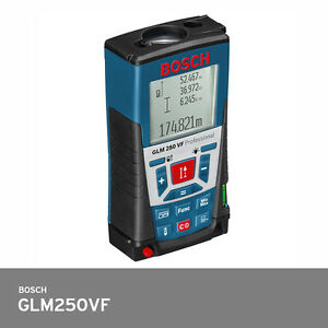 Bosch Glm 250vf Laser Distance Meter 250m Ip54 30 Memory 1 0mm Accuracy Fedex