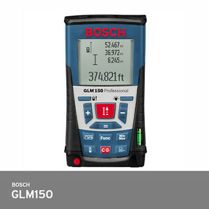 Bosch Glm 150 Laser Distance Meter 150m Ip54 30 Memory 1 0mm Accuracy Fedex