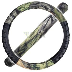 Bdk Hawg Camo Camouflage Steering Wheel Cover Odorless Tpe Material