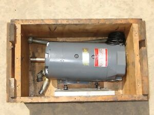 Nice Refurbished Motor For Moore No 3 Jig Grinder W Mounting Plate