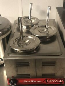 Food Warmer Full Size 12 X 20 With Steam Table Pans Table Top Steamer