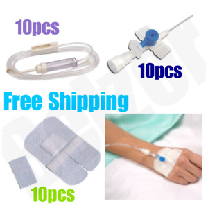Iv Cannula Injection Set Kit Venflon Set Iv Administration Fixation Tape 6x8cm