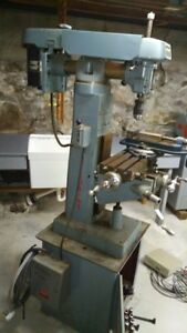Clausing Vertical Milling Machine Model 8525 With Additional Tooling
