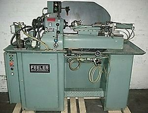 Feeler Model Fts 27 Precision Secondary Operation Lathe